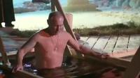 不愧是战斗民族! 普京裸身毫不犹豫跳入冰水中