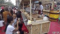 新疆美食大巴扎, 从头吃到尾, 游客吃胖一圈还想吃