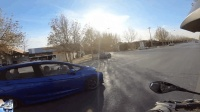 MotoVlog #72  路遇飞度GK5改装车队 + 新款本田四缸街车CB650F + 哥儿俩动作已同步