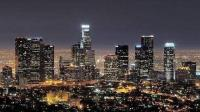 原来在高速上也能看到洛杉矶如此美妙的夜景