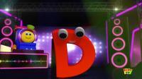 益智英文动画: 与鲍勃一起学习街道之字母D