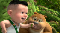 熊出没之熊熊乐园 熊出没探险日记熊二对战病毒大王筱白解说