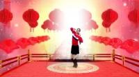 建群村广场舞《情人拜年》新年系列编舞 阿采2018年最新广场舞带歌词