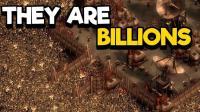 【矿蛙】亿万僵尸 盆地难度120%下集 战争与守护! 50万僵尸同时围城