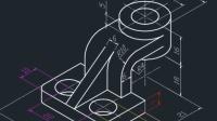 CAD基础实操案例之轴测图画法及技巧