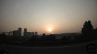 自驾游在路上, 望着天边的夕阳, 心情有多舒畅