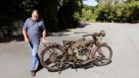 1915年生产的哈雷摩托车, 看还能发动不