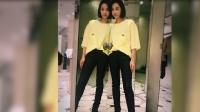 八卦:宋茜称自己镜像为双胞胎姐妹 网友:姐妹俩都很美