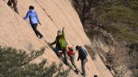 VideoJoiner180120182954行军蚁户外训练营大牛爪  片石峰爬山训练教学视频