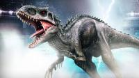 《侏罗纪世界恐龙第302期 狂暴龙VS超魁纣龙》儿童游戏 糯米解说