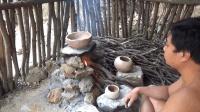 生存哥开始烧制陶器, 这里边的讲究可不小