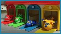 超级飞侠乐迪停车场 儿童玩具亲子互动手绘