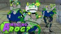 魔哒爆笑神奇青蛙 古罗马斗士蛙大战僵尸蛙开启模拟城市大门