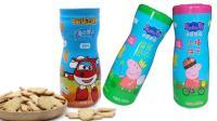 【小猪佩奇】超级飞侠薏米仁山楂海苔味饼干