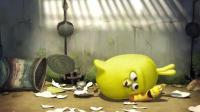 搞笑虫子之虫子小黄养了一只小鸡, 最后却被大家驱赶