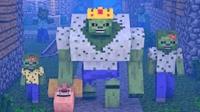 大海解说 我的世界Minecraft 僵尸村民生化实验室