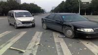 事故警世钟: 两车路口巧偶遇, 你不刹车我不让, 咣当一声冒金光278期