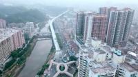 20180121-航拍恢复双向通行的塘厦高架桥