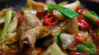大厨教你回锅肉原始做法, 2分钟就学会, 年夜饭你家又多了一道菜