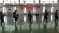 厚德外国语学校教师跳绳表演, 有劲! ! !