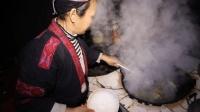 农村一家人用这么小的3条小鱼, 煮出一锅汤, 味道太好了