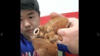 美食小吃货;山东大哥炖羊肉, 下手直接捞起个羊心吃的真爽!