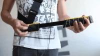 高科技创意吉他, 演奏时能变大, 结束后能缩小你信吗?