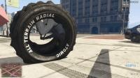 [HoHo GTA5 MOD]超能旋转轮胎