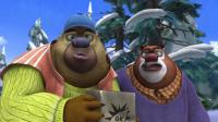 熊出没: 光头强丢了工作没钱吃饭饿晕了, 熊二雪中送烤薯霸