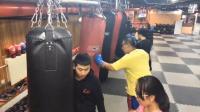 【杰克练拳】练习一套新的组合拳-直直勾直勾