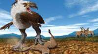 《山海经》记载一种鸟,疑似是生活在15000年前的泰坦鸟