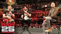 【RAW25周年庆典】魅力队长克里斯坦主持Peep秀 杰森-乔丹被狂嘘