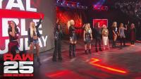 【RAW25周年庆典】女神们接连降临! 贝拉姐妹、凯莉凯莉、崔西!