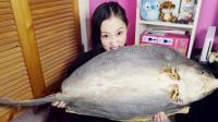 年夜饭大鱼大肉吃腻了? 来点不一样, 试试美女推荐的海鲜鲨鱼干!