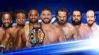 WWE2018年1月24日狂野角斗士之WWE美国职业摔角