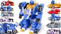 玩具赛车变形机器人