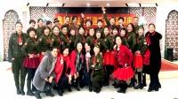 长江鑫都双人水兵舞 《北江美》表演 长江鑫都姐妹集体版2018年最新广场双人舞