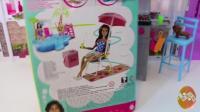 芭比娃娃 过家家玩具 27 芭比邀请好姐妹在她家吃烧烤