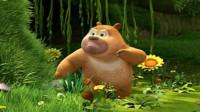 熊出没之熊熊乐园 熊出没探险日记熊大熊二钢铁护甲筱白解说