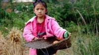 农村留守小女孩唱给在外打工父母的一首歌, 听一次哭一次