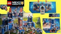 乐高未来骑士团 骑士的高科技移动要塞 LEGO NEXO KNIGHTS™  The Fortrex - 70317