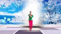 建群村广场舞《又见雪花飞》编舞 雨夜2018年最新广场舞带歌词