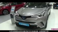 国内首台丰田CHR到店, 就凭这个颜值卖12万, 国产车要全部歇菜