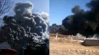 化工厂发生爆燃致1死2伤1失联
