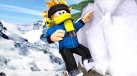 【Roblox登山模拟器】攀登珠穆朗玛峰! 绝命海拔触摸世界之巅! 小格解说 乐高小游戏