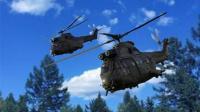 法国两架军用直升机空中碰撞坠毁 5位飞行员身亡