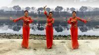 漓江飞舞广场舞红歌二连唱原创经典老歌大妈最爱