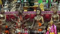 为祭祀跳入神坑的妇女 老挝