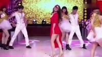 柳岩穿红裙跳舞, 太艳丽, 网友: 原来跳舞这么猛