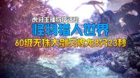 【峻赫】怪物猎人世界60级无珠大剑灭烬龙8分23秒